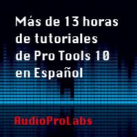 tutoriales pro tools 10