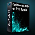 pro tools opciones de MIDI