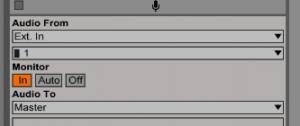 grabar audio ableton live 3