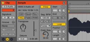 grabar audio ableton live 9