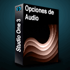 Studio One 3 opciones de audio