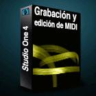 Studio One 4 Grabacion y edicion de MIDI