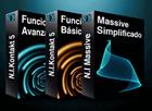 Pack N.I Massive + N.I Kontakt 5 Funciones Básicas + Funciones Avanzadas