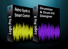 Pack Logic Pro X Smart Controls y Retro Synth + Drummer y Drum Kit Designer