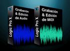 Pack Logic Pro X Grabación y edición de audio + Grabación y edición MIDI