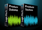 Pack Logic Pro X Producir Techno + Producir Dubstep
